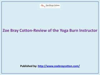 Review of the Yoga Burn Instructor