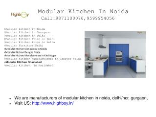 Modular Kitchen in Noida, Modular Kitchen in Delhi, Modular Kitchen Gurgaon