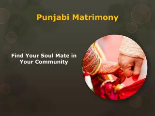 Punjabi Matrimony | Find Your Life Love