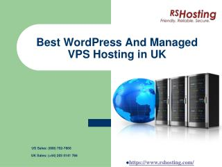 Best Wordpress And Managed VPS Hosting in UK