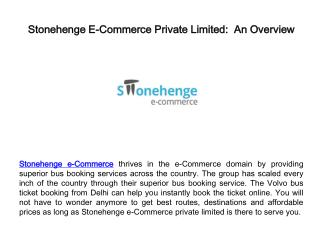 stonehenge e-commerce private limited