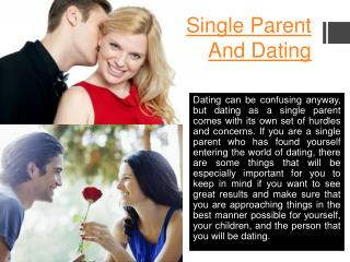 Dating Website For Single Parents
