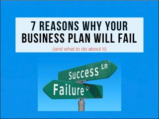 7 reasons why your plan will fail (and what to do about it)