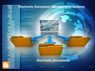 Electronic document management system Software