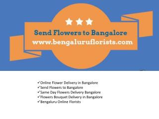 Send Flowers to Bangalore
