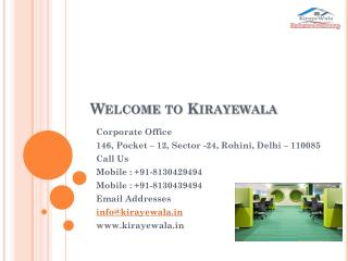Flats for Rent in Rohini | House on Rent in Delhi -  Kirayewala.in