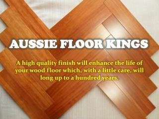 Aussie Floor Kings-Floor Sanding Newcastle