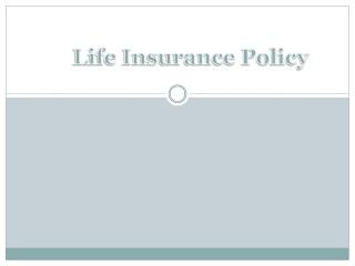 When Should You Review Your Life Insurance Policy?