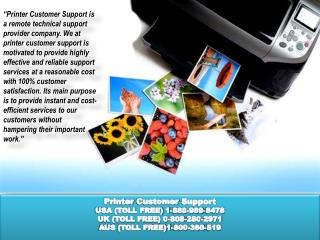 lenovo Printer Customer Support Phone Number