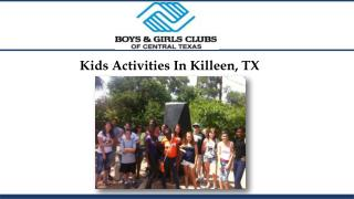 Kids Activities In Killeen, TX