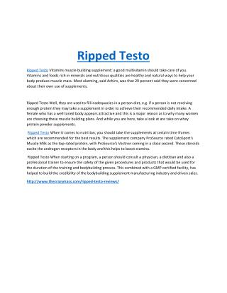 http://www.thecrazymass.com/ripped-testo-reviews/