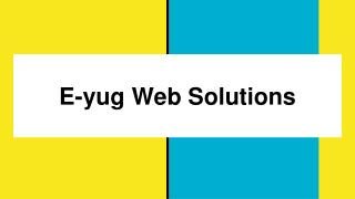 web services offered by eyug