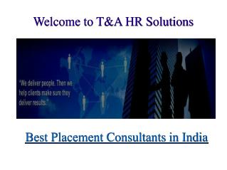 IT Job Consultants in Gurgaon