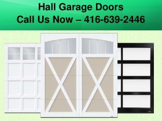 Garage Door Repair, Installation & Maintenance Services in Toronto