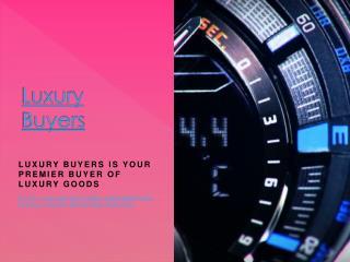 Luxury Buyers