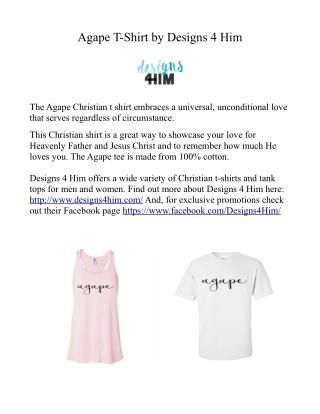 Agape Christian T-Shirt
