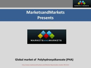 Global Market of PHA(Polyhydroxyalkanoate)