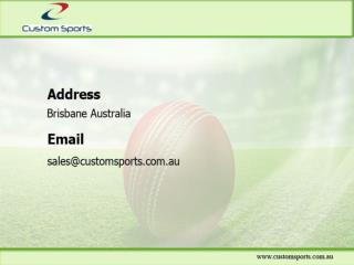 Match Cricket Balls, Custom Cricket Bags