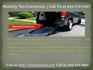 wheelchair accessible cars | Call Us at (844)-372-8267