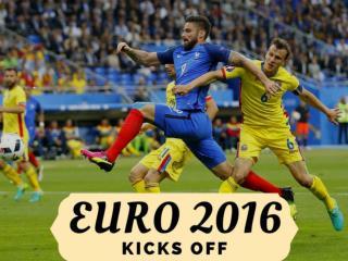 Euro 2016 kicks off