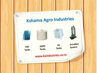 ks Manufacturer, HDPE Tanks, PP Tanks in Gujarat, INDIA