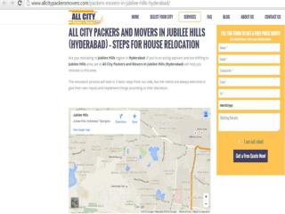 Packers and Movers in Jubilee-hills (Hyderabad)-All City Packers and Movers®
