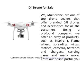 Dji Drone for Sale