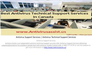 Antivirus Support Services | Antivirus Technical Support Services