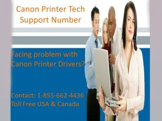 Get 24*7 tech support dial 1-855-662-4436 canon printer tech support number