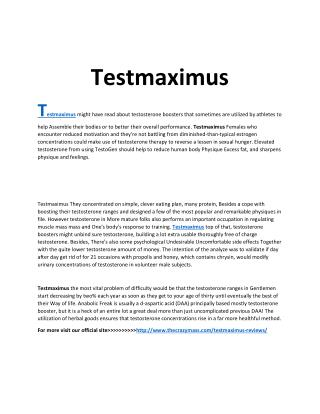 http://www.thecrazymass.com/testmaximus-reviews/