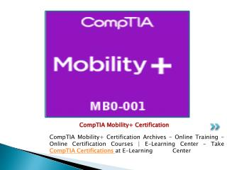CompTIA Certifications Training - Online Courses