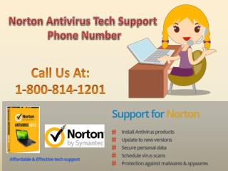 For Instant Help Dial Norton Antivirus Tech Support Phone Number 1-800-814-1201-Toll-Free