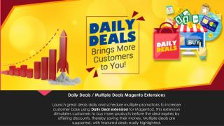 Daily Deals | Multiple Deals Magento Extension