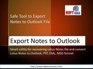 NSF to PST Software