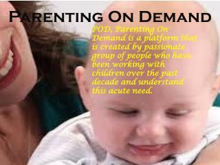 Demanding of Parents