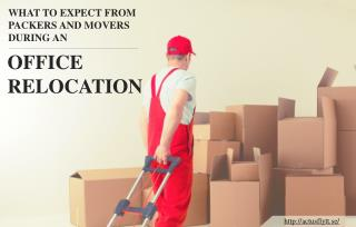 Hire Professional Packers and Movers for your Office Relocation