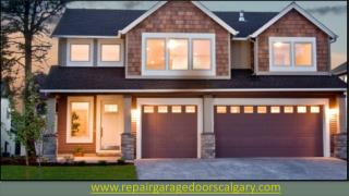Garage Door Installation And Repair Services - Calgary