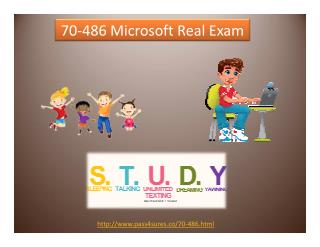 70-486 Cisco Real Exam
