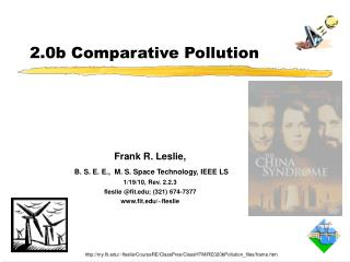 2.0b Comparative Pollution