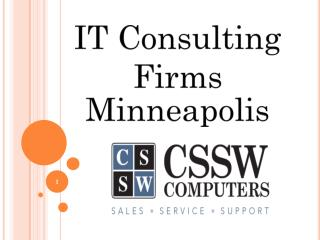 IT consulting firms Minneapolis