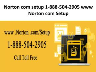 1-888-504-2905 Norton Setup with Product Key Activation