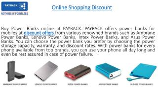 Discount Coupons at PAYBACK