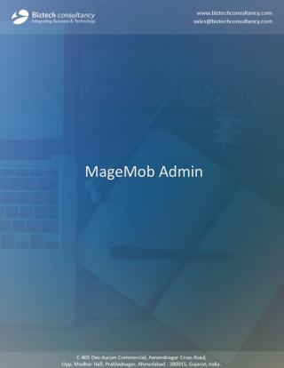 MageMob Admin: Magento Mobile Assistant Extension to Manage Store