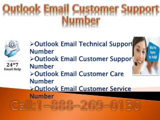 Outlook Password 1-888-269-0130 Recovery Number