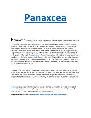 http://www.topwellnesspro.com/panaxcea-reviews/