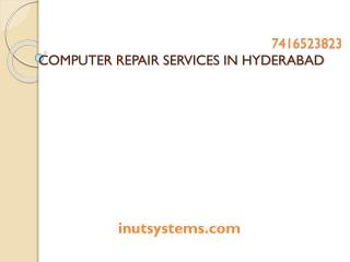 Computer repair services in hyderabad at low cost
