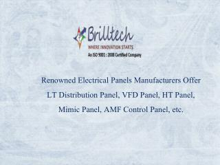 Amf Control Panel Manufacturers