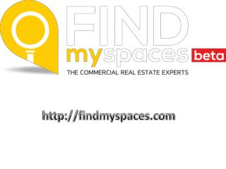 Commercial property for Rent- Findmyspaces.com