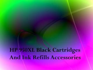 HP 950XL Black Cartridges & Refill Accessories By Shop.re-inks.com