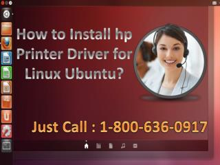 How to install hp printer driver for linux ubuntu
